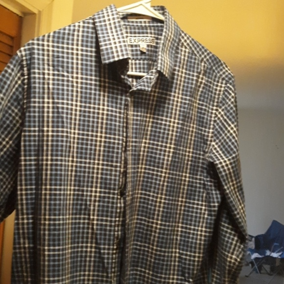 Express Other - Long sleeve button down